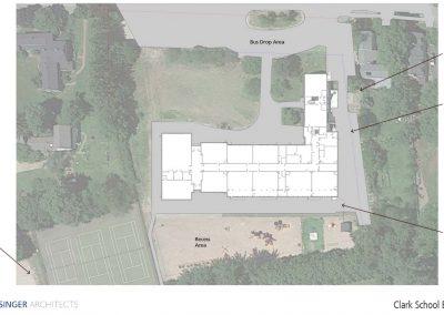 Clark School Existing Site Plan