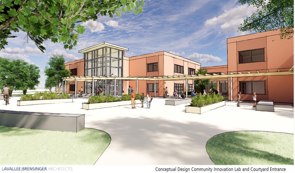 Amherst Middle School Conceptual Design